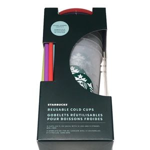 NWT Starbucks limited ed Colour changing cups